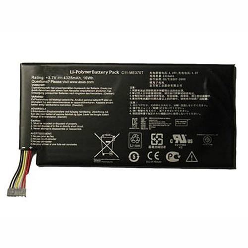 4325mAh/16Wh ASUS GOOGLE NEXUS 7 8GB Replacement Battery C11-ME370T 3.7V