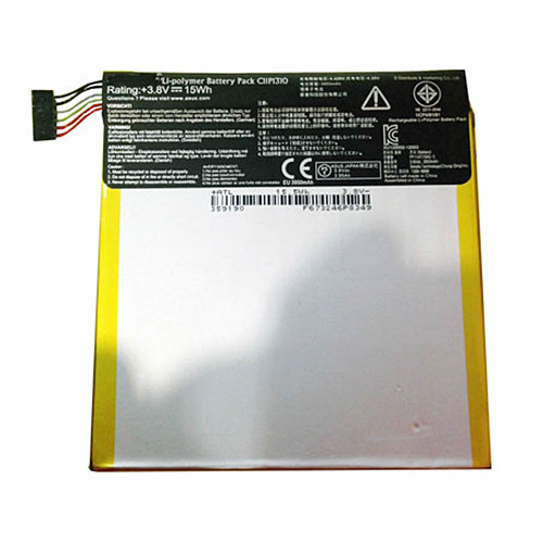 15WH Internal Battery for Asus Fone Pad 7 Me372CG Replacement Battery C11P1310 3.8V