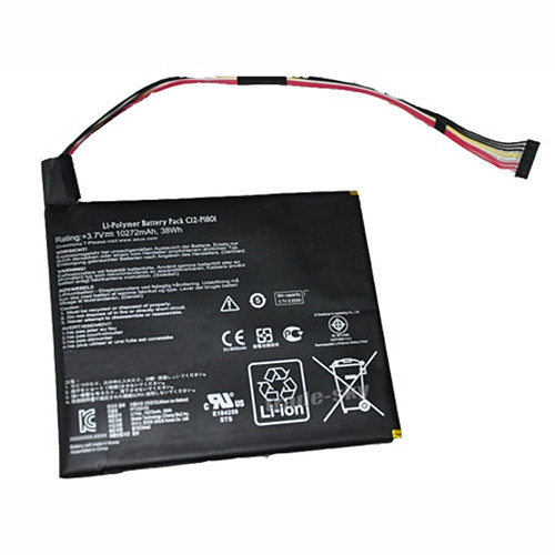 38wh Asus Transformer AiO P1801 Tablet PC Replacement Battery C12-P1801 3.7V