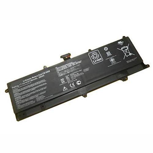 5136mAh/38Wh Asus VivoBook S200E X202E X201E Replacement Battery C21-X202 7.4V