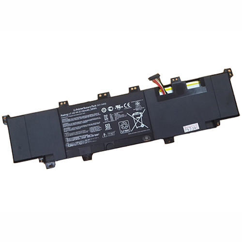 5136mah/38WH ASUS VivoBook S300 S400 S400E Series Replacement Battery C21-X402 7.4V (not compatible 11.1V)