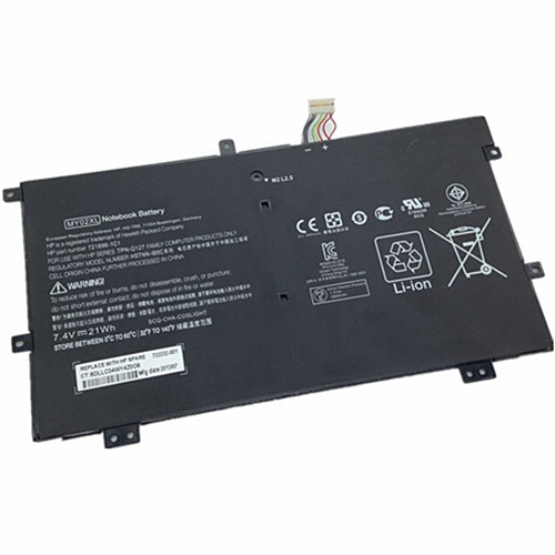 21WH HP SLATEBOOK X2 10-H010NR 721896-1C1 Replacement Battery MY02XL 7.4V
