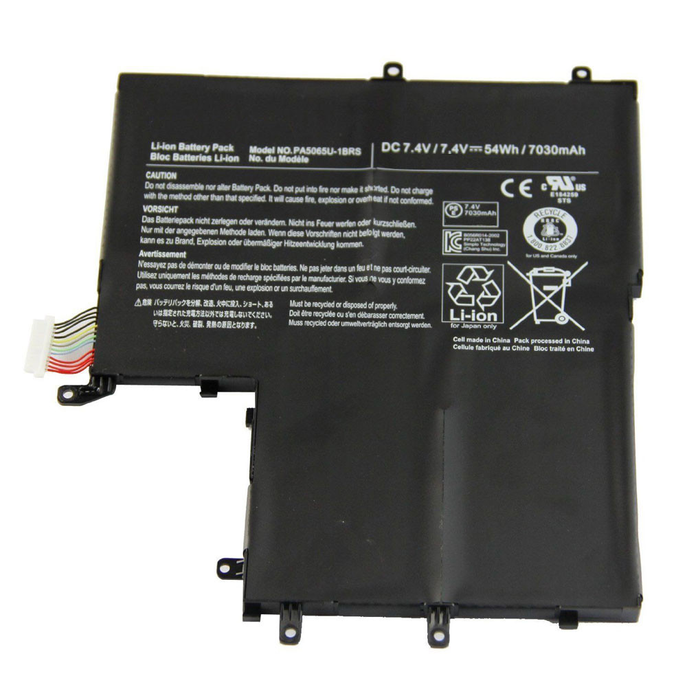 54WH/7030mah 7.4V PA5065U-1BRS Replacement Battery for Toshiba Satellite U845W U840W-S400