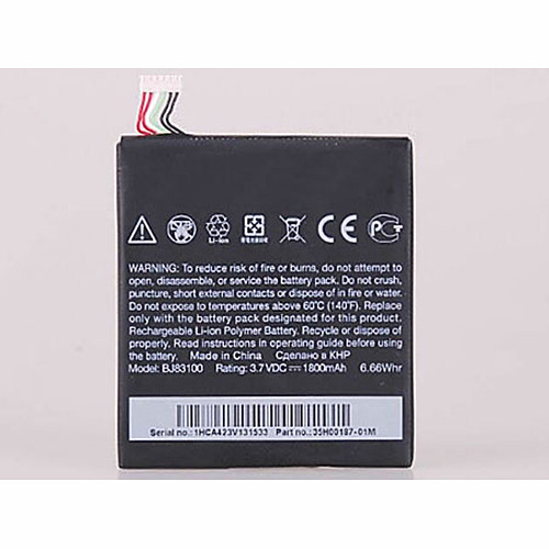 7.75WH/2040mAh  HTC One X S720e 35H00187-01M 1800mAh +Tools Replacement Battery S720e 3.8V
