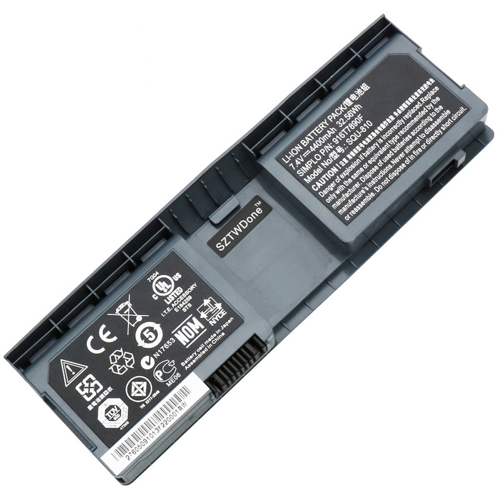 4800mah FUJITSU NOBi Intel 8.9inch Classmate Convertible netbook Replacement Battery SQU-810 7.4V
