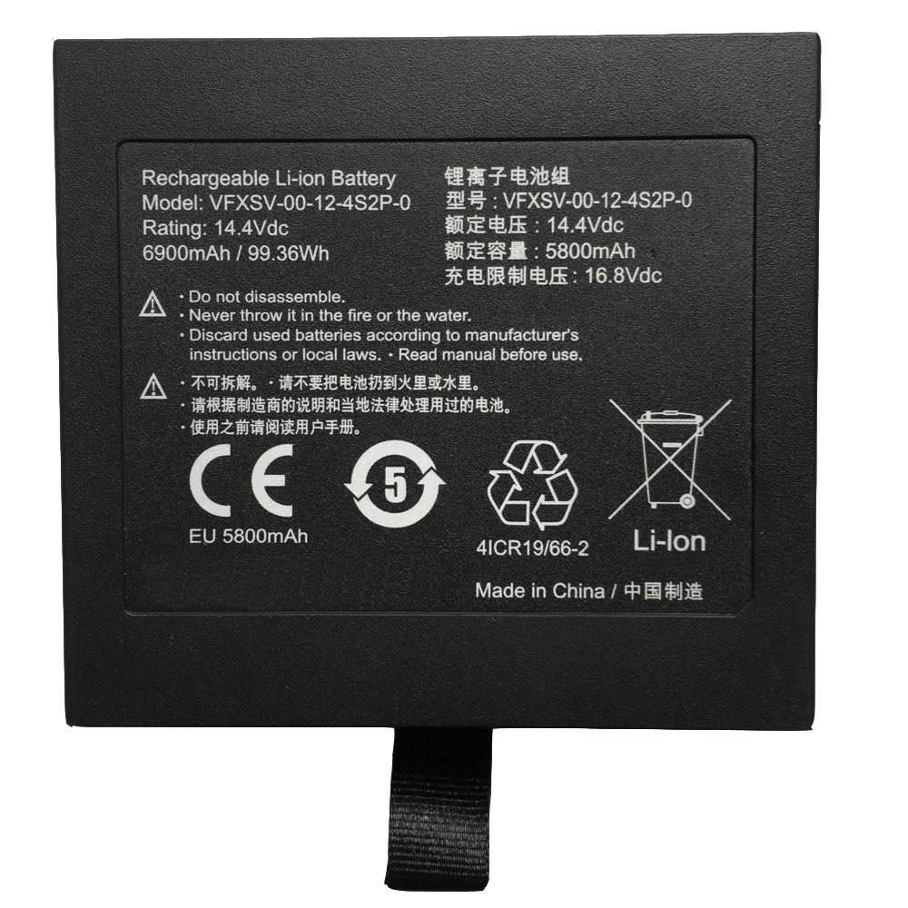 5800MAH 14.4V VFXSV-00-12-4S2P-0 Replacement Battery for GETAC GALLERIA VR WEAR VFXSV-0