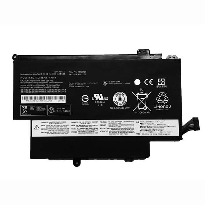 45N1704 45N1705 45N1706 45N1707 Laptop akku Ersatzakku für Lenovo Thinkpad 12.5