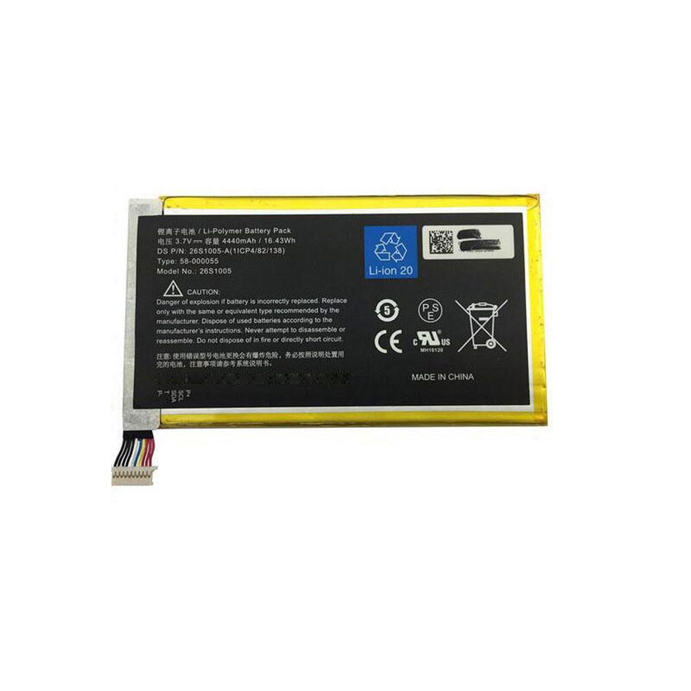 26S1005 Akku Ersatzakku für Amazon Kindle Fire HD 7 P48WVB4 Batterien