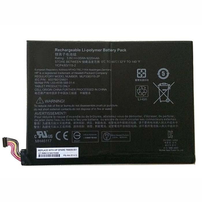 789609-001 akku Ersatzakku für HP Pavilion X2 10-K010NR Batterien