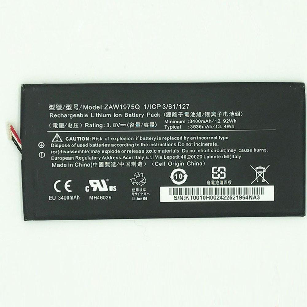 ZAW1975Q Akku Ersatzakku für Acer A1-713 A1-713HD Iconia Tab7 LZ Batterien