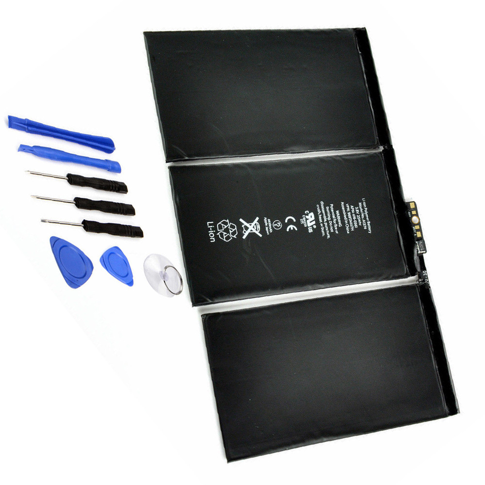 A1376 akku Ersatzakku für Apple iPad 2 A1395 A1396 A1397 + Tools Batterien