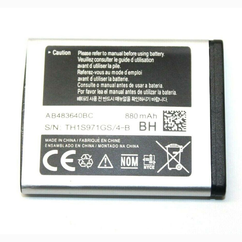 AB483640BC Akku Ersatzakku für Samsung Galaxy C3050 M608 M519 T339 F619 J608 Batterien