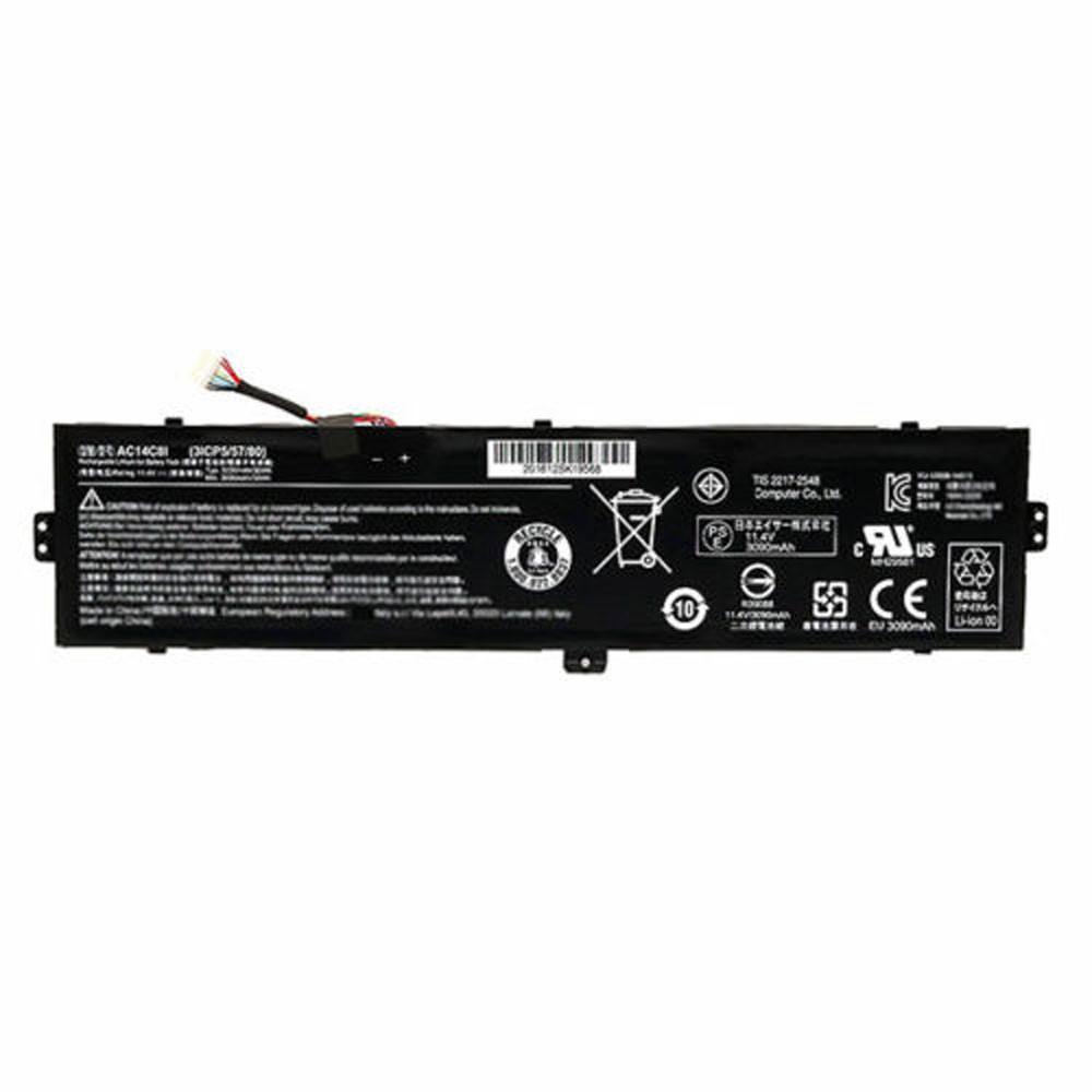 AC14C8I Akku Ersatzakku für Aspire Switch 12 SW5-271 Batterien