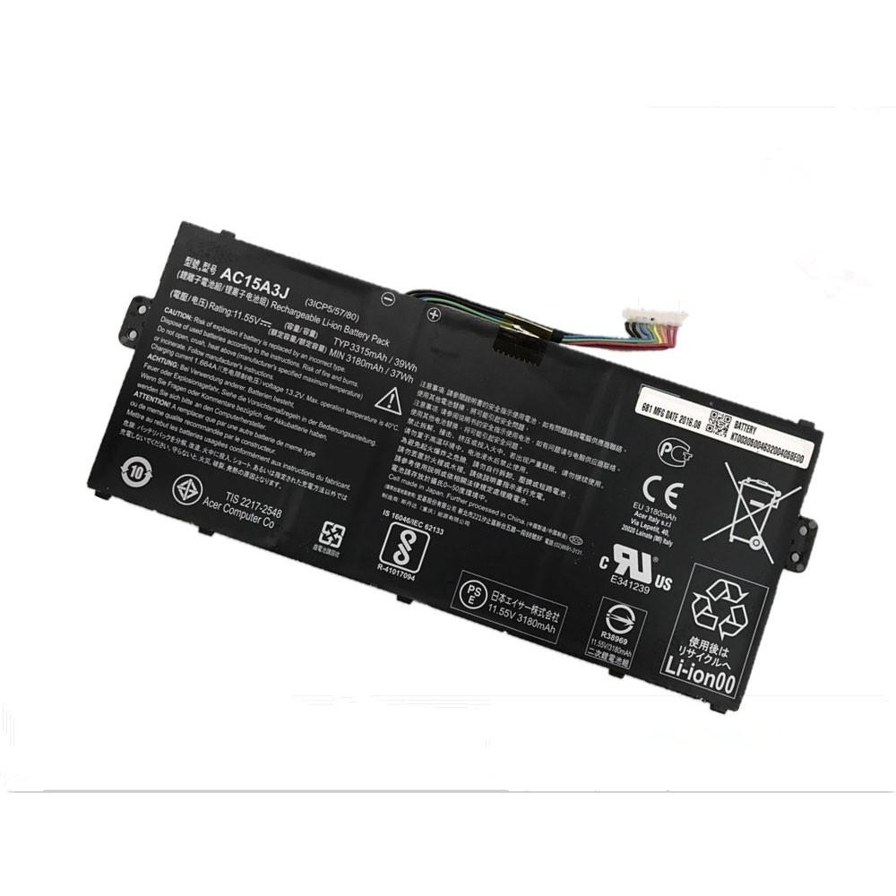 AC15A3J Akku Ersatzakku für Acer Chromebook R11 CB5-132T CB3-131 C738T C735 Batterien