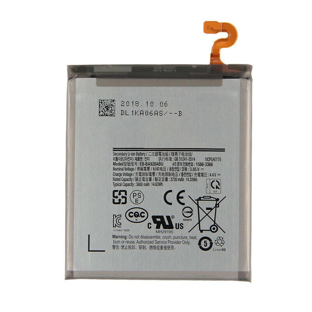 EB-BA920ABU Akku Ersatzakku für Samsung Galaxy A9s SM-A9200 A9200 Batterien
