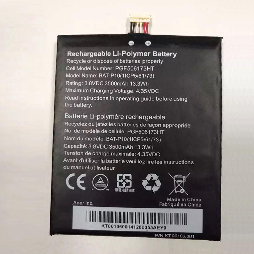 BAT-P10 Akku Ersatzakku für Acer E39 Liquid E700 Liquid E700 Triple Batterien