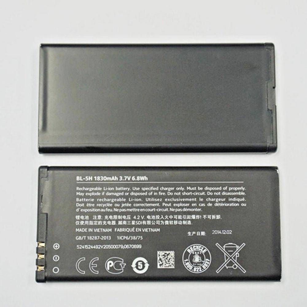 BL-5H Akku Ersatzakku für Nokia Lumia 630 635 636 638 Batterien