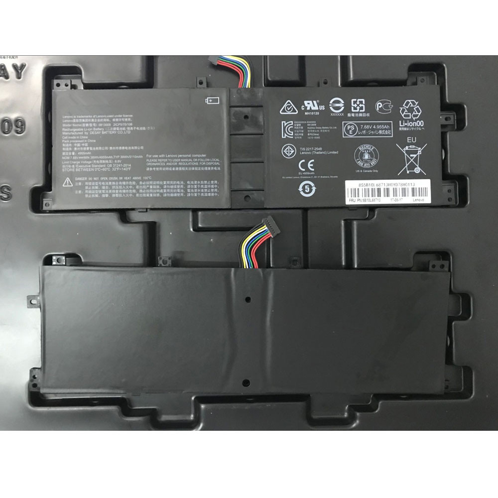 BSN04170AS-AT Laptop Akku Ersatzakku für Lenovo Miix5 PRO miix510-12 Series Batterien