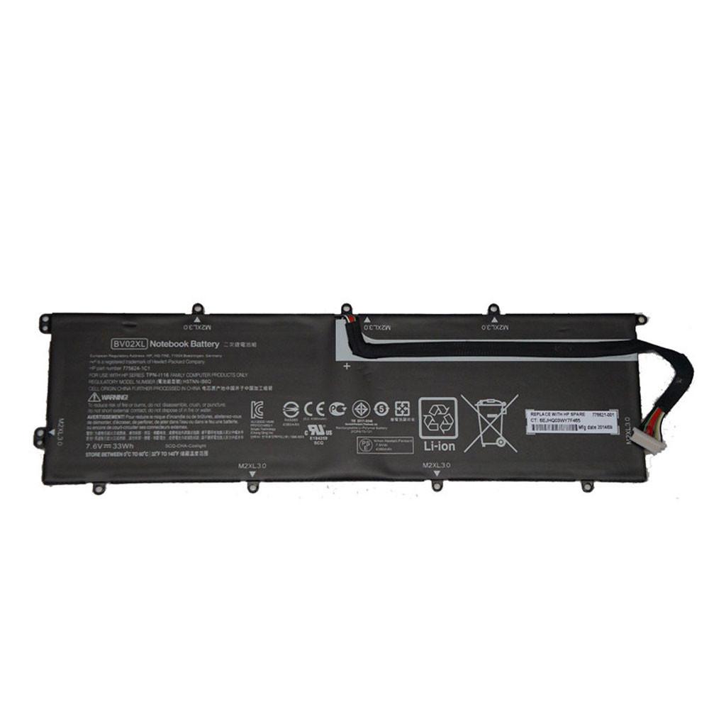 BV02XL Akku Ersatzakku für HP Envy X2 Detachable 13 Series Batterien