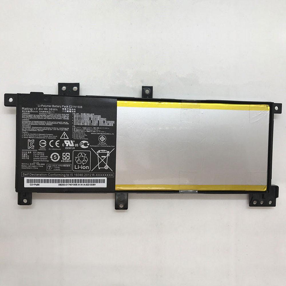 C21N1508 Akku Ersatzakku für ASUS X456UJ X456UV X456UF Batterien