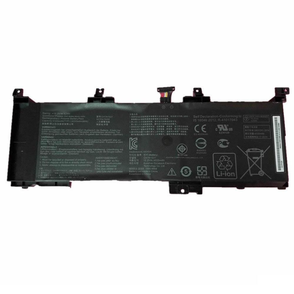 C41N1531 Laptop akku Ersatzakku für ASUS GL502VS-1A GL502VY-DS71 ROG GL502VS series Batterien