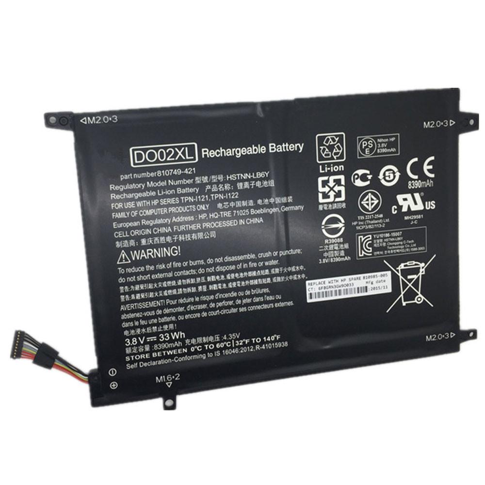 DO02XL Laptop Akku Ersatzakku für HP Pavilion X2 10 Series Batterien