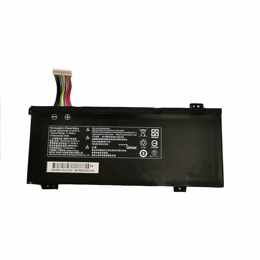 GK5CN-00-13-3S1P-0 Laptop Akku Ersatzakku für Medion Erazer X6805 X6807 Schenker XMG Neo 17 Batterien