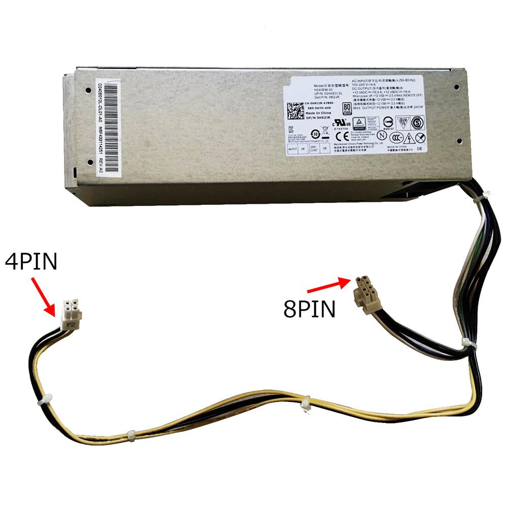 Netzteil für  DHVJN for Dell Inspiron 3650 Optiplex 3040 5040 7040,240W L240EM-00 Ladegerät