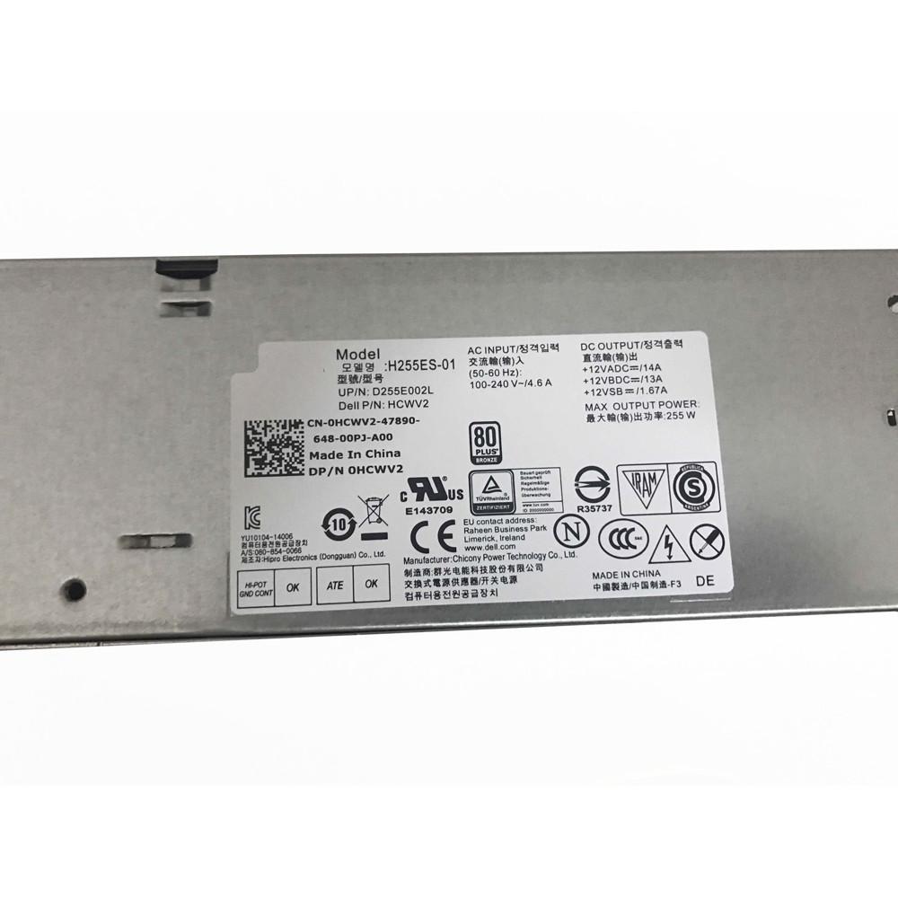 Netzteil für 255W Dell Optiplex 3020 7020 9020 SFF,HCWV2 Ladegerät