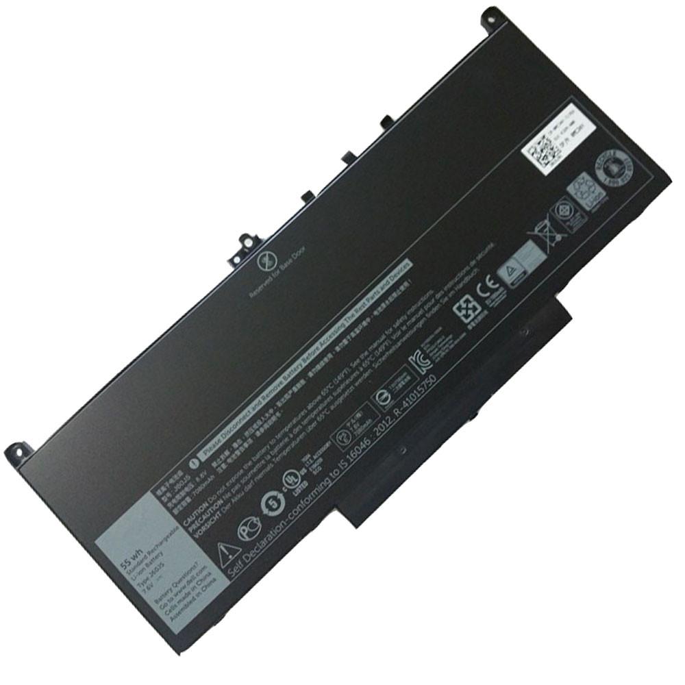 J60J5 Laptop Akku Ersatzakku für Dell Latitude E7270 E7470 MC34Y Batterien