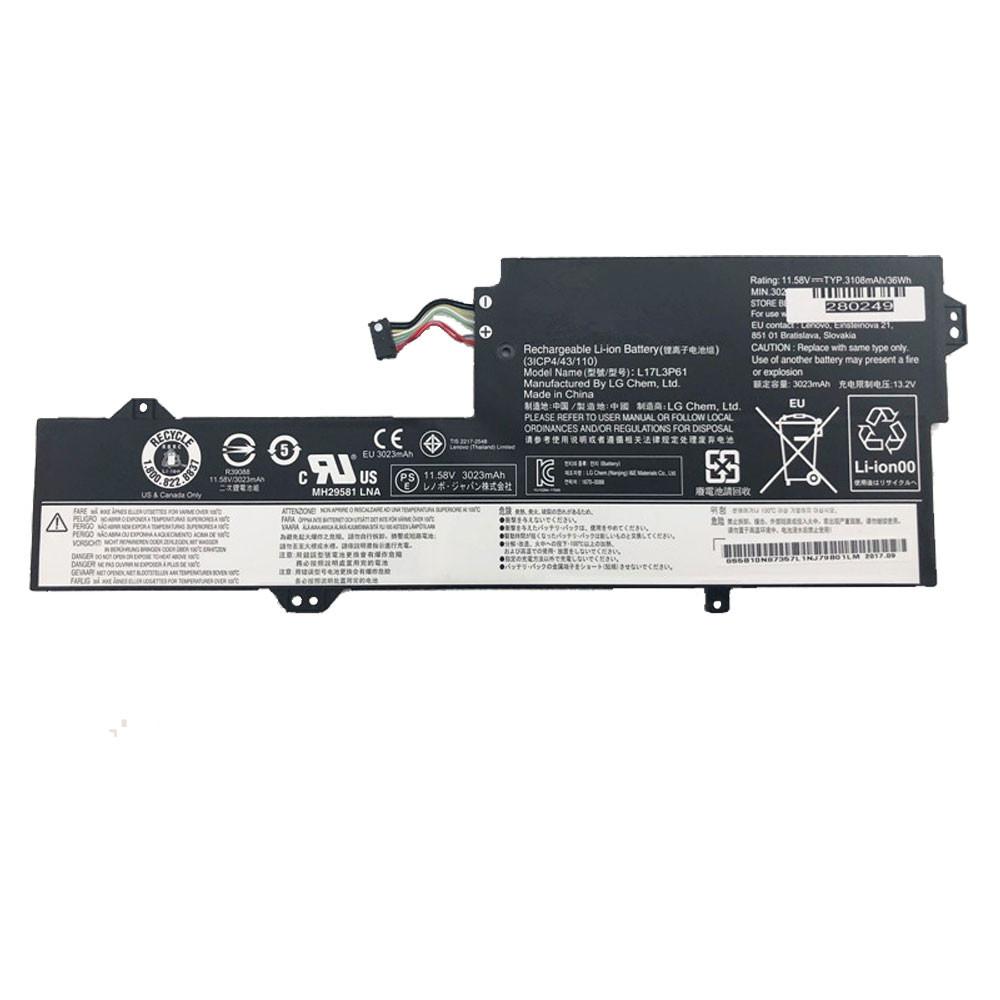 L17L3P61 Laptop Akku Ersatzakku für Lenovo 7000-13 Series Batterien