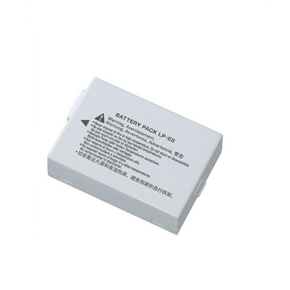 LP-E8 Akku Ersatzakku für Canon EOS 550D 600D 700D Kiss X4  Rebel T3i T2i Batterien
