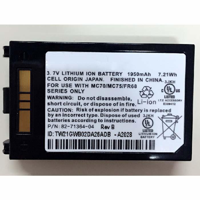 82-71363-04 akku Ersatzakku für Symbol MOTOROLA MC70 MC75 FR68  Batterien