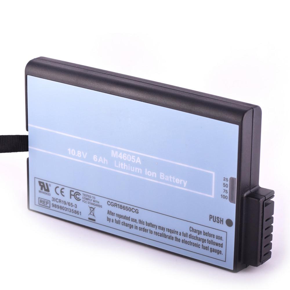 M4605A Laptop akku Ersatzakku für Philips MP20 MP30 MP40 MP50 MP70 MP90 M8001A M8002A Batterien