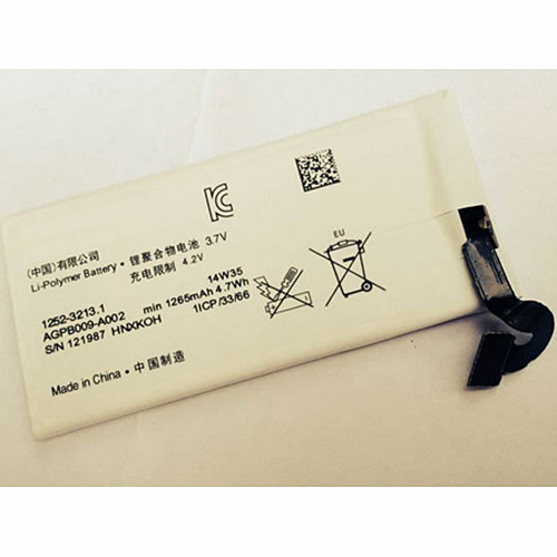 AGPB009-A002 Laptop akku Ersatzakku für Sony Xperia sola MT27 MT27i 1265mAh + Tools Batterien
