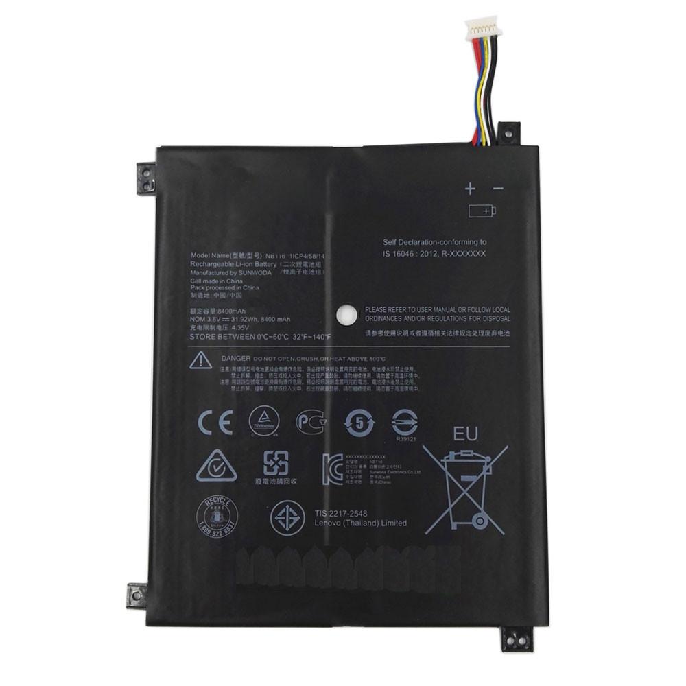 NB116 Akku Ersatzakku für Lenovo IdeaPad 100S 100S-11IBY 80R2 100S-80 R2 Batterien