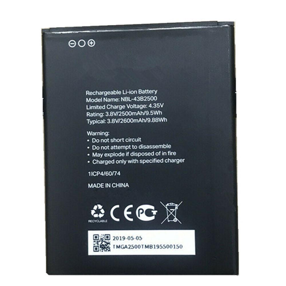 NBL-43B2500 Akku Ersatzakku für TP-Link Neffos Batterien