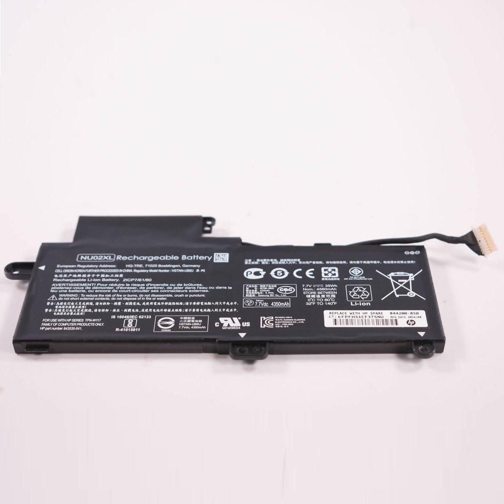 NU02XL Laptop akku Ersatzakku für HP HSTNN-UB6U TPN-W117 843535-541 Series Batterien