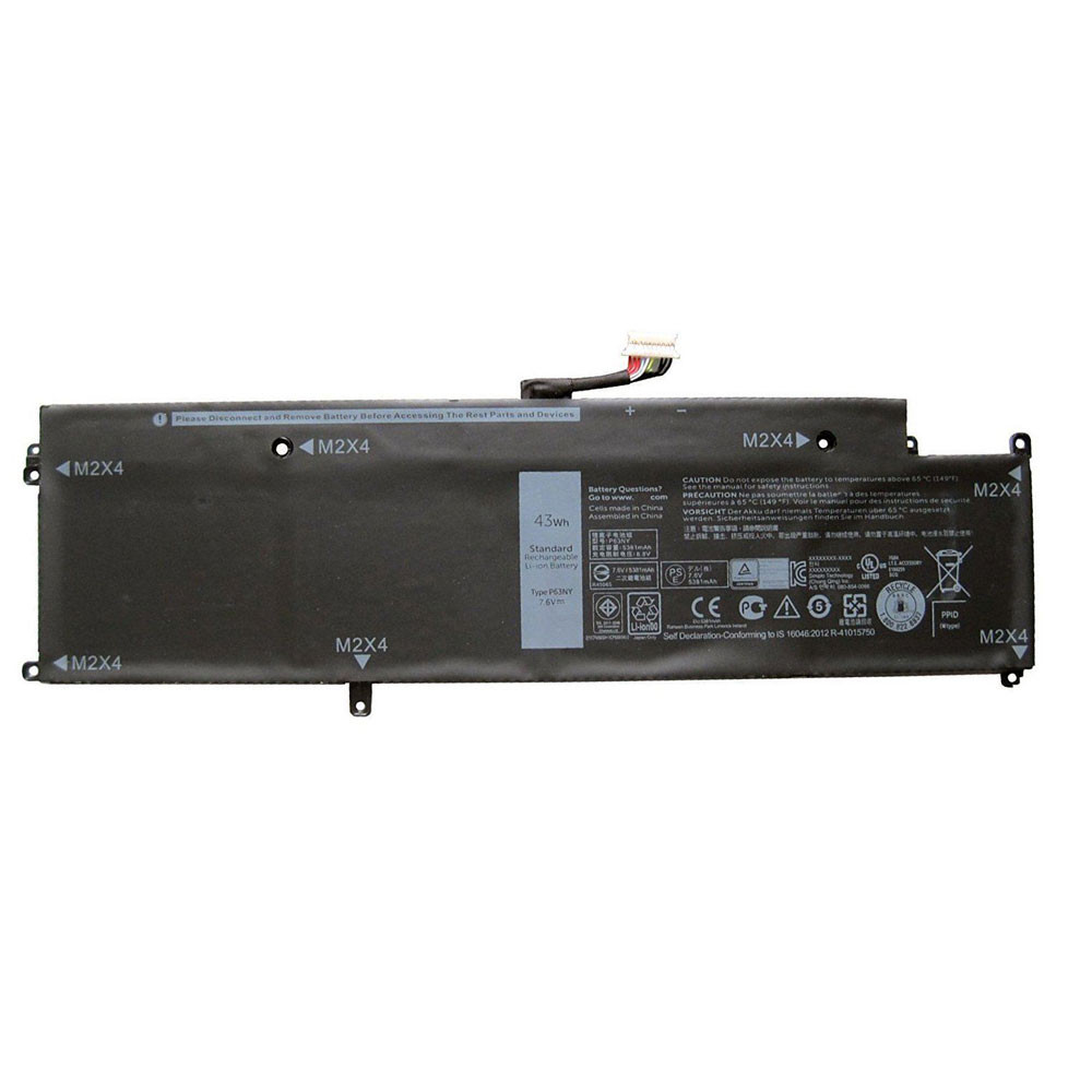 P63NY Laptop Akku Ersatzakku für Dell Latitude 7370 Series Batterien