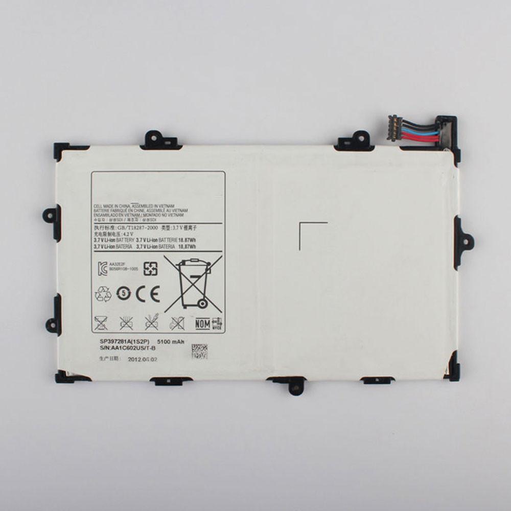 SP397281A Akku Ersatzakku für Samsung Tab 7.7 GT-P6800 P6800 SCH-I815 Batterien