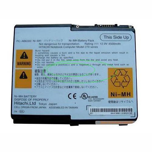 PC-AB6300 Laptop akku Ersatzakku für Hitachi Flora 270 270W NW8 Batterien