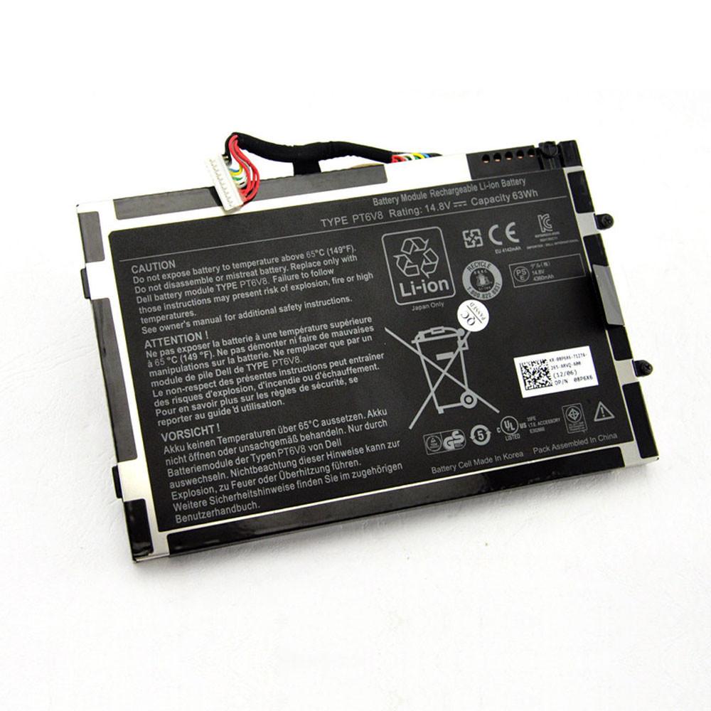 PT6V8 Laptop Akku Ersatzakku für Dell Alienware M11x M14x R1 R2 R3 T7YJR P06T 8P6X6 08P6X6 Batterien