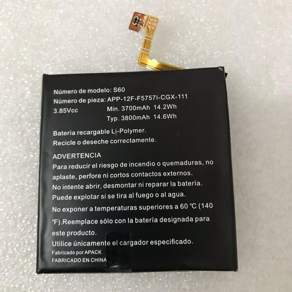 APP-12F-F5757I-CGX-111 Akku Ersatzakku für CAT S60 Batterien