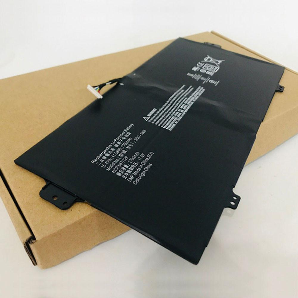 SQU-1605 Laptop Akku Ersatzakku für Acer Spin 7 SP714-51 SP713-51 Series Batterien