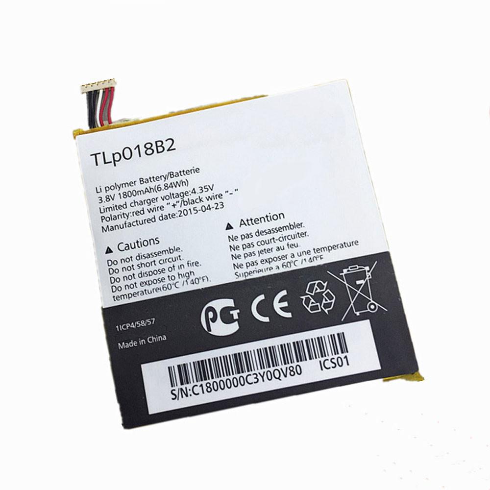 TLP018B2 Akku Ersatzakku für Alcatel ONETOUCH Fierce 7024 7024w 7024n Ot-6030a 6030 S820 Batterien