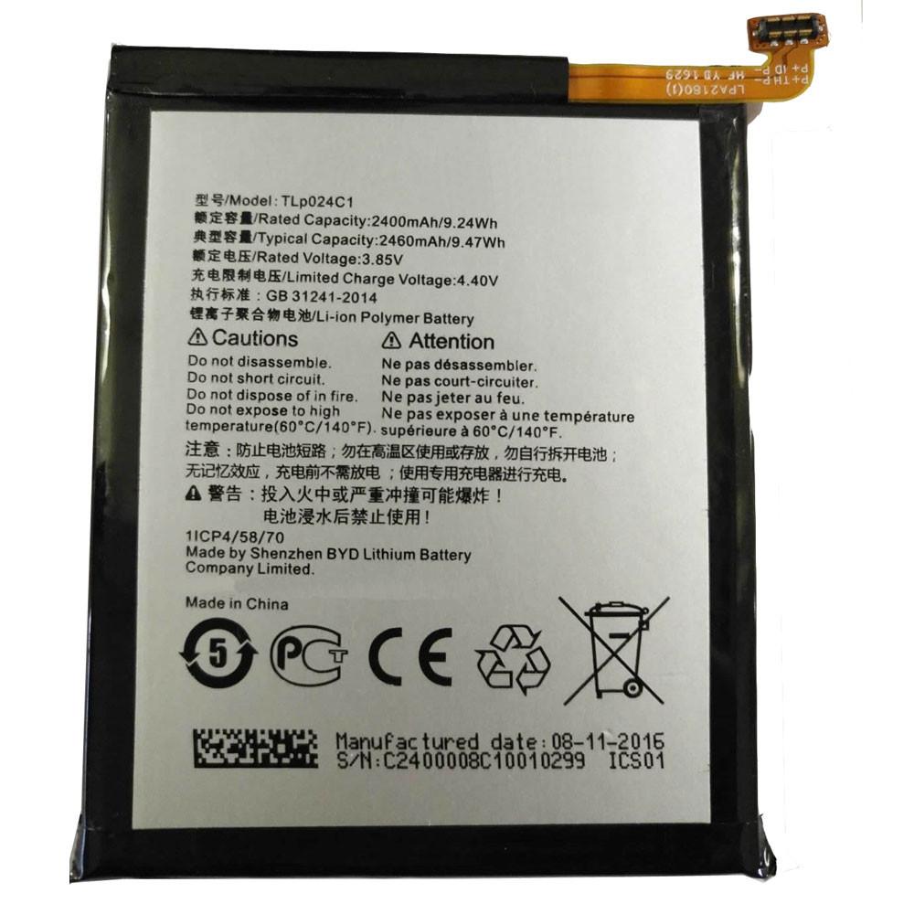 TLP024C1 Akku Ersatzakku für Alcatel A3 OT-5046/Shine Lite OT-5080 5080X Batterien