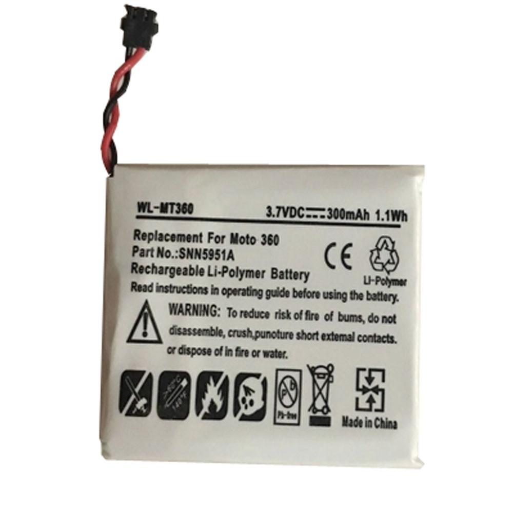 WX30 Akku Ersatzakku für Motorola Moto 360 1st Gen 2014 SNN5951A Batterien
