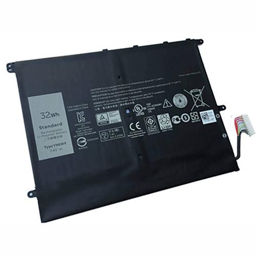 YN6W9 Laptop akku Ersatzakku für 7.4V 32WH Batterien