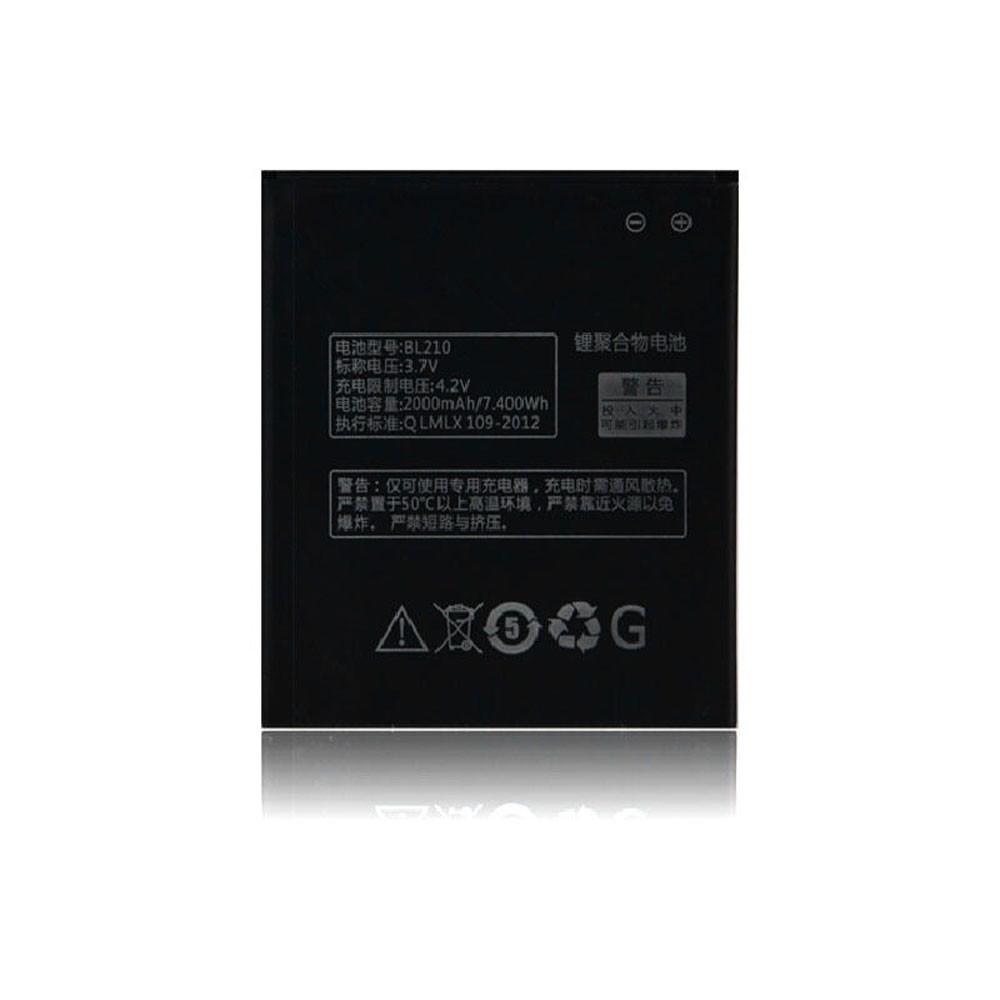 BL210 Akku Ersatzakku für Lenovo S820 S650 A750E A658T A656 A766 Batterien