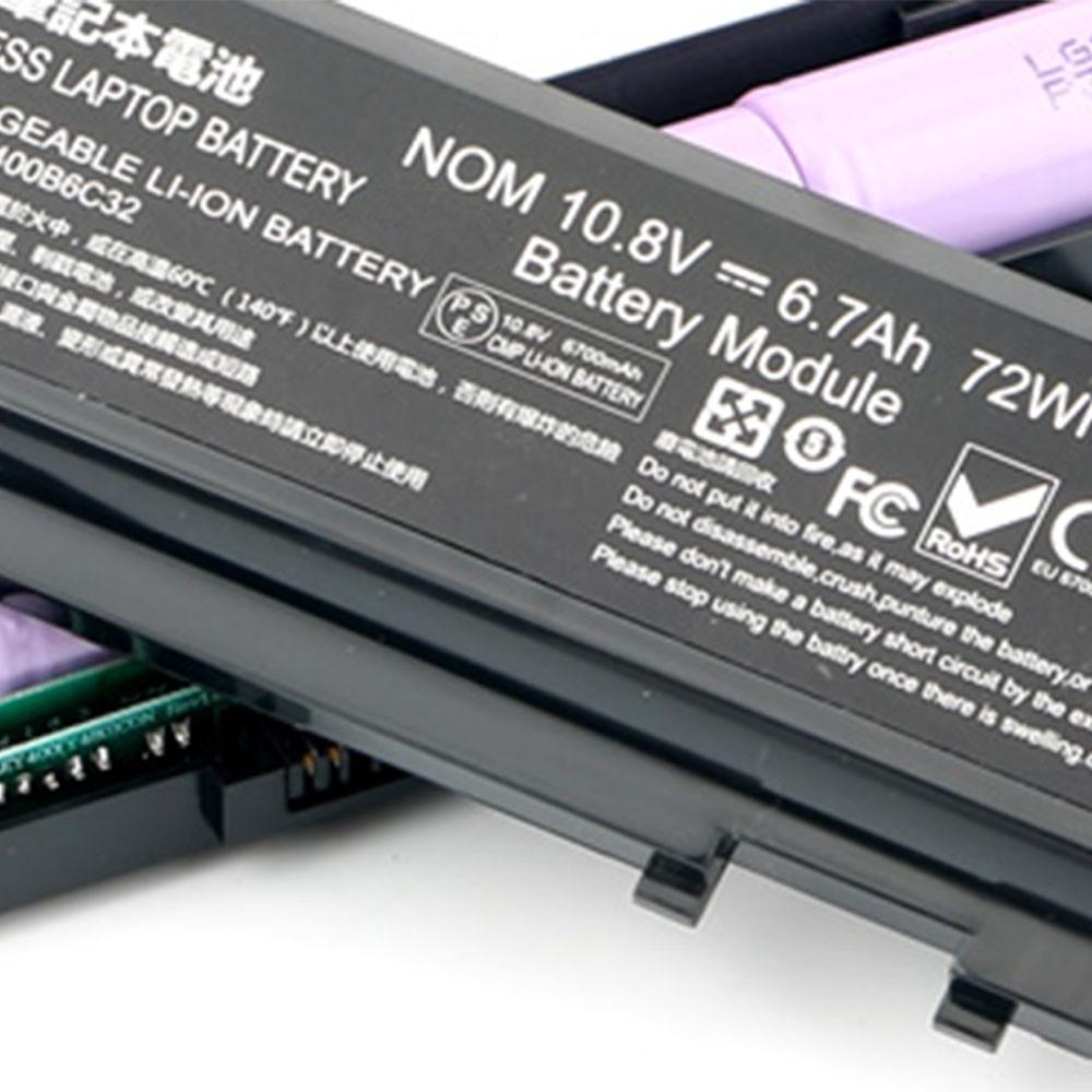 L11L6R02 Laptop Akku Ersatzakku für Lenovo IdeaPad Y500 Y510 Y590 6cell Batterien